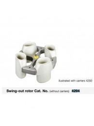 Бакет-ротор 4294 для центрифуги Hettich Rotixa 50S (4х1000 мл)