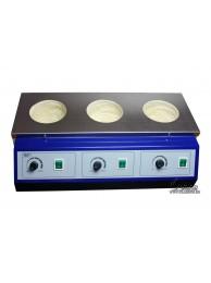 UT-4100-3 Колбонагреватель трехместный 1500 мл (500 x 3)