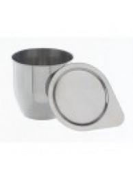 Тигель и крышка, никель 99,6%, H=40 D=40 30 мл. тип 1 (8104)