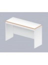 Стол Лаб-Ом-10 без тумб, низкий (меламин, 1100х400х660)