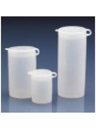 Контейнер для образцов, 1 мл, пластиковый PE-LD, с плотно закрывающейся навесной крышкой PE-LD (80730) (Vitlab)