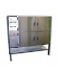 Низкотемпературная печь SNOL 4x80/200 ДАТ (нерж. сталь / вентилятор)