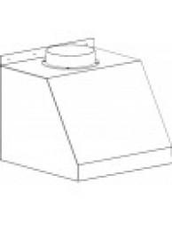 Зонт вытяжной пристенный ЛАБ-PRO ВЗ 50.50.45 П