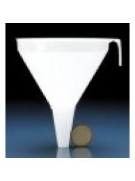 Воронка большая, диам. 200 мм, L=200 мм, диам. на выходе 22 мм, пластиковая PP (41794) (Vitlab)