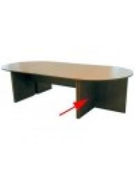 Стол-приставка (Сектор полукруглый - 180 градусов) 600СПкр-180 оф (меламин 22 мм.)