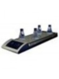 Магнитная мешалка 10-ти местная с подогревом Ulab US-0135H (0-1100 об/мин; 120°C; аналог. управл; 450х180 мм)