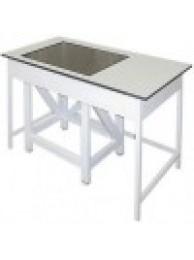 Стол весовой большой *стол в столе* 900 СВГ-1200л (ламинат/гранит)